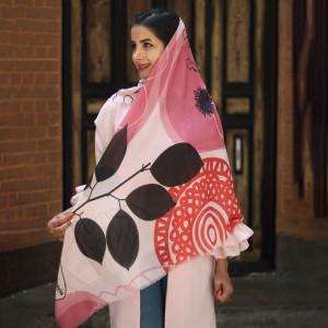 روسری نخی زنانه کد 3