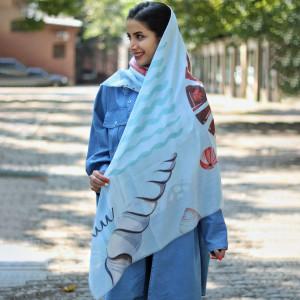 روسری نخی زنانه کد 1