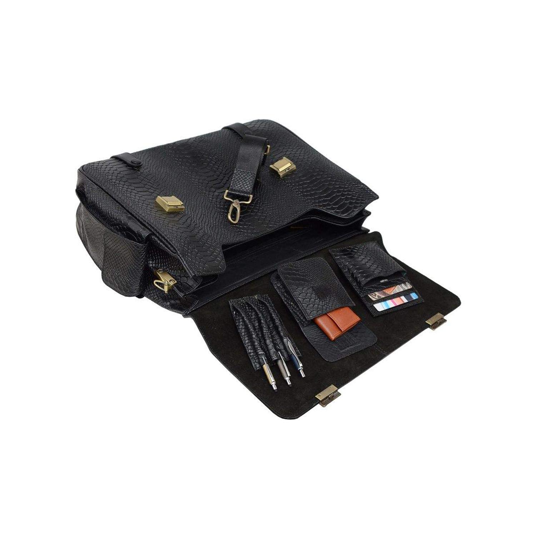 کیف اداری چرم گارد مدل SH 100114 - 2
