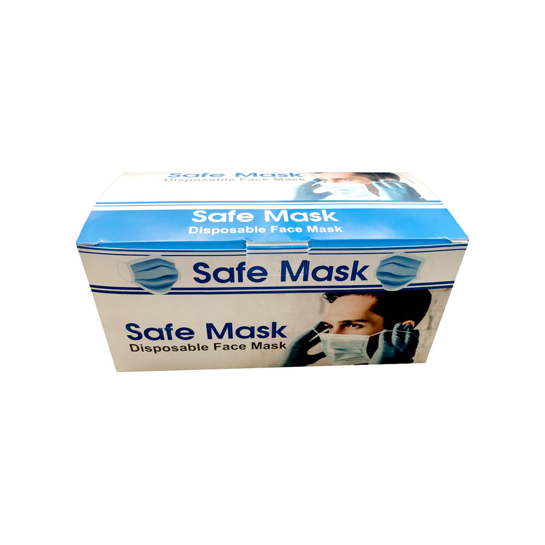 ماسک پزشکی سه لایه 50 عددی - آبی