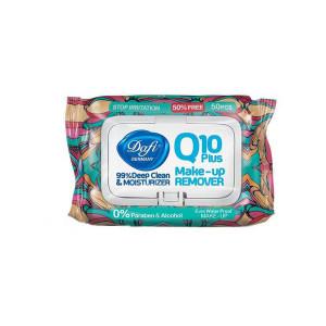 دستمال مرطوب دافی مدل Q10-Stop Irritation بسته 50 عددی
