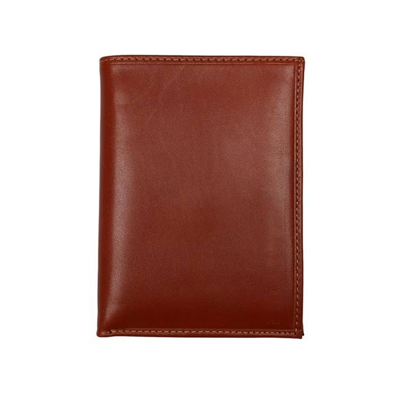 کیف پول چرم رویال چرم مدل M6-Brown