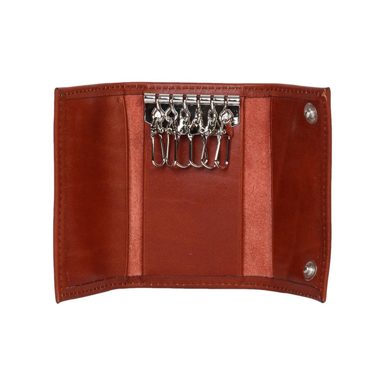 جا کلیدی چرم رویال چرم کد M21-Brown