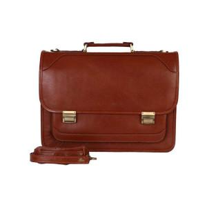 کیف اداری چرم رویال چرم کد BL23-Brown