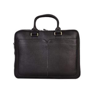 کیف اداری چرم رویال چرم مدل BL21-Black