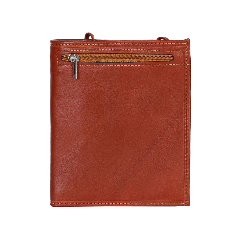 کیف پاسپورتی چرم رویال چرم کد P2-Brown