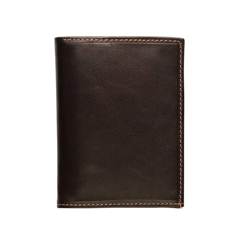 کیف پول چرم رویال چرم کد M10-DarkBrown