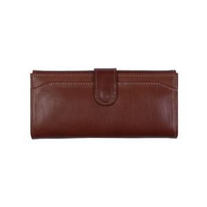 کیف پول چرم رویال چرم مدل W17-Brown