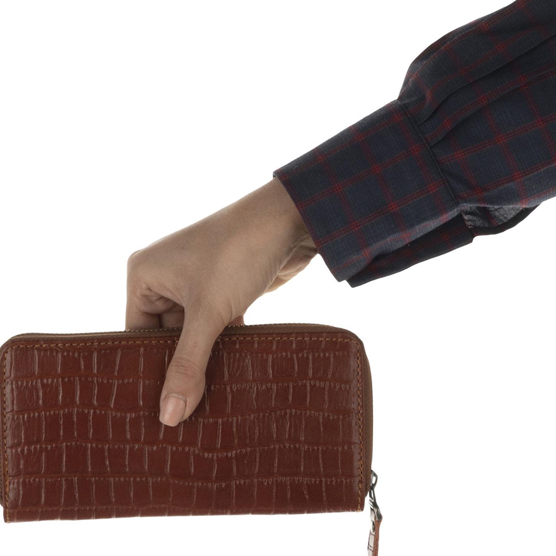 کیف پول چرم رویال چرم کد W19