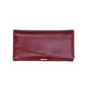 کیف پول چرم رویال چرم مدل W10-Crimson