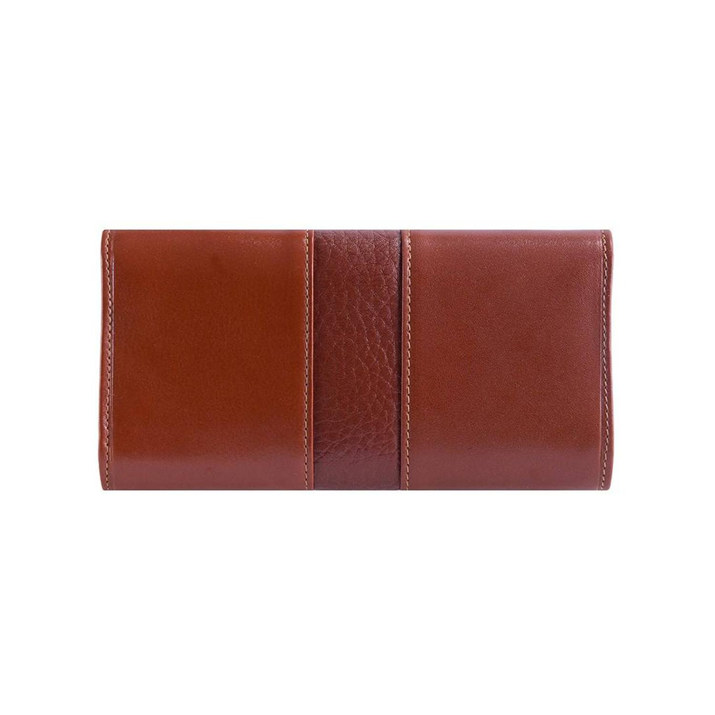 کیف پول چرم رویال چرم مدل W26-Brown