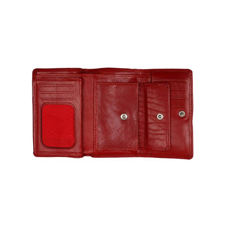 کیف پول چرم رویال چرم کد W16-Red