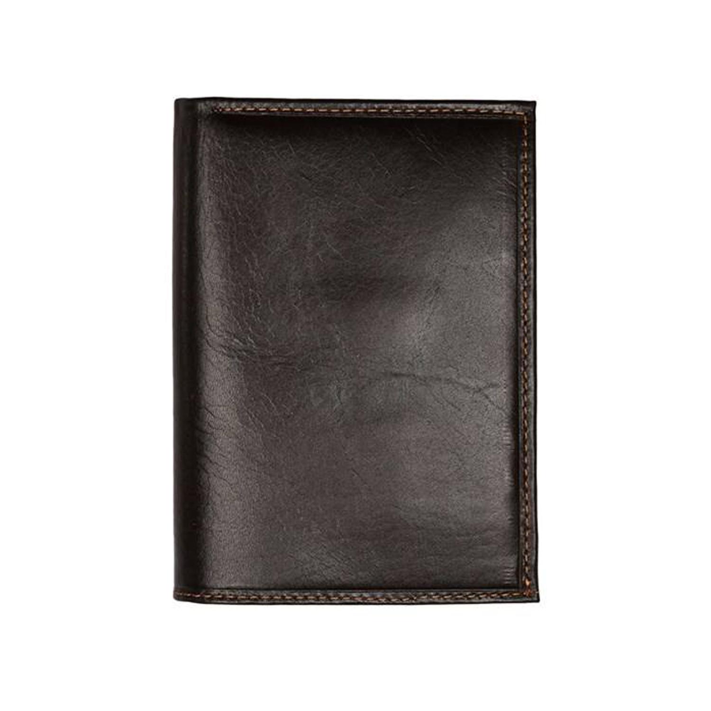 کیف پول چرم رویال چرم کد M6-DarkBrown