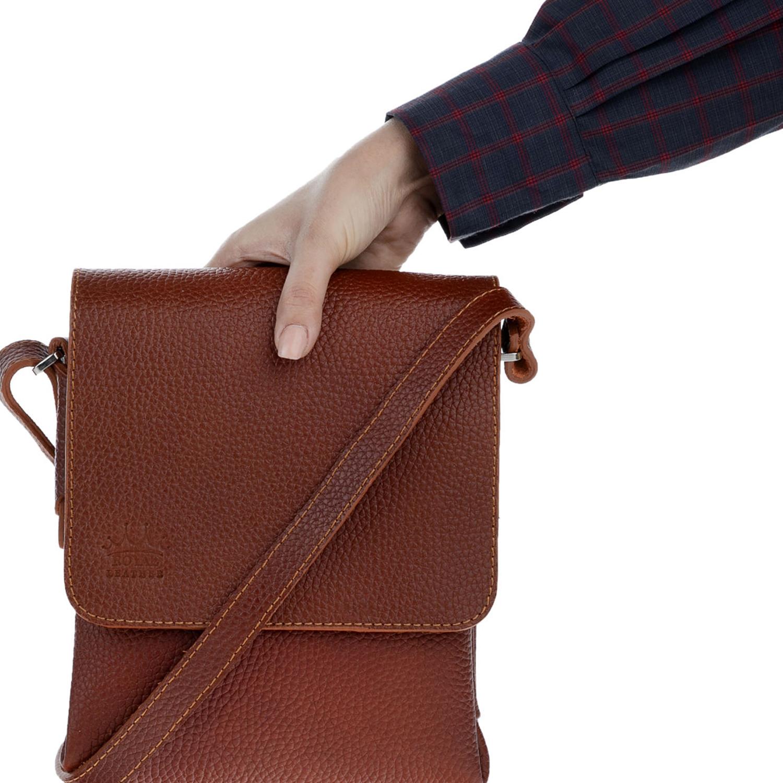 کیف دوشی چرم رویال چرم کد W52
