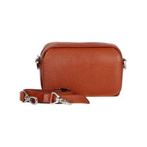 کیف دوشی چرم رویال چرم کد W60-Brown