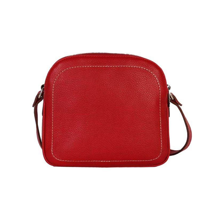 کیف دوشی چرم رویال چرم کد W61-Red