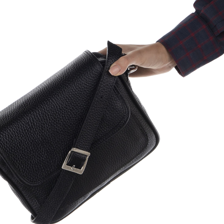 کیف دوشی چرم رویال چرم کد W66