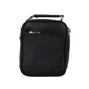 کیف دوشی چرم رویال چرم مدل W56-Black