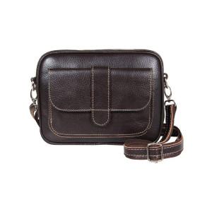 کیف دوشی چرم رویال چرم کد W6