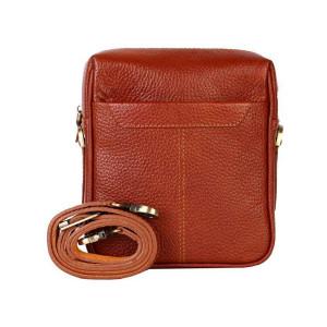 کیف دوشی چرم رویال چرم کد W62
