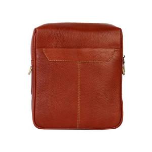 کیف دوشی چرم رویال چرم کد W63-Brown
