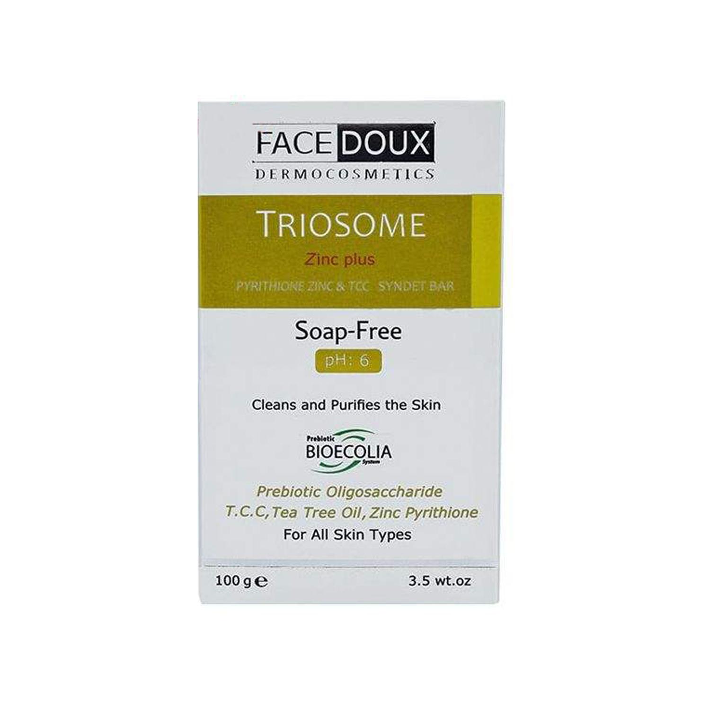پن روزانه صورت و بدن فیس دوکس مدل Triosome Zinc Plu