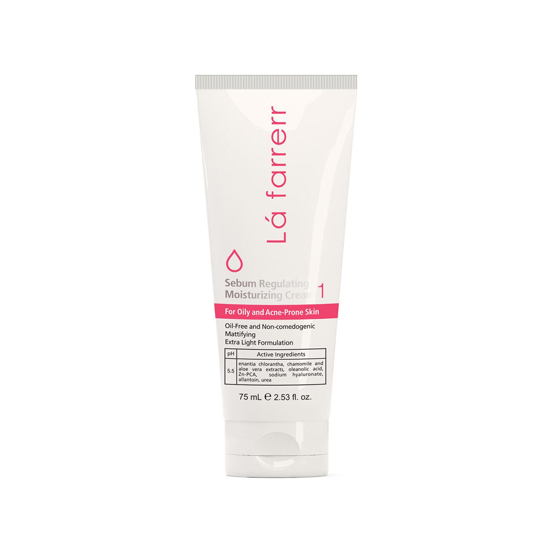 کرم مرطوب کننده لافارر مدل Oily & Acne Prone Skin کد 1 حجم 75 میلی لیتر