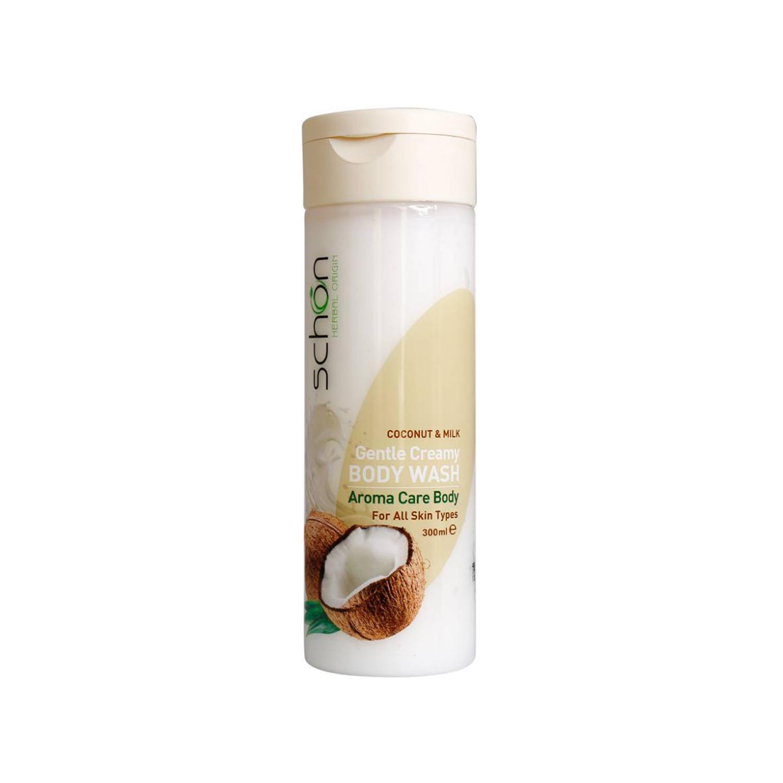 شامپو بدن شون مدل Coconut And Milk حجم 300 میلی لیتر