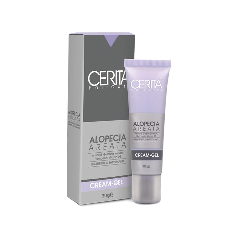 ژل کرم ضد ریزش مو سریتا مدل Alopecia Areata حجم 30 میلی لیتر
