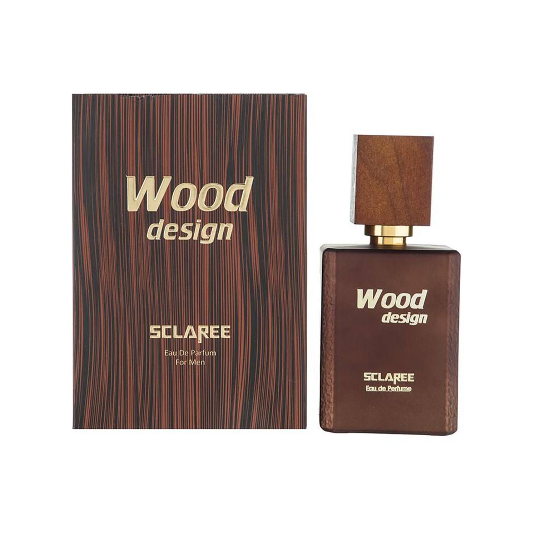 عطر مردانه اسکلاره مدل Wood Design حجم 100 میلی لیتر
