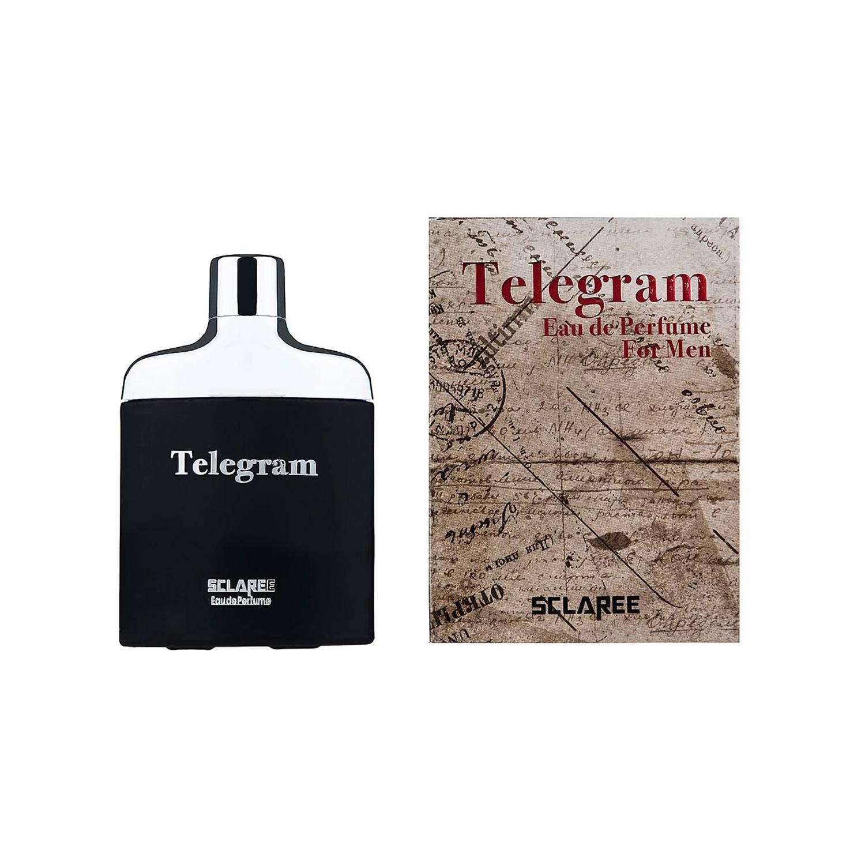 عطر زنانه اسکلاره مدل Telegram حجم 100 میلی لیتر به همراه عطر مردانه اسکلاره مدل Telegram حجم 80 میلی لیتر