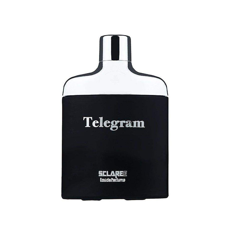 عطر و اسپری مردانه اسکلاره مدل Telegram