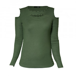 تی شرت آستین بلند زنانه مدل 16163