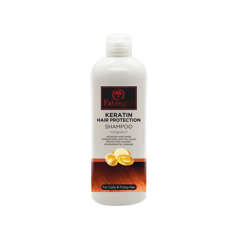 شامپو ویتامینه روزانه فابریگاس مدل Keratin حجم 400 میلی لیتر
