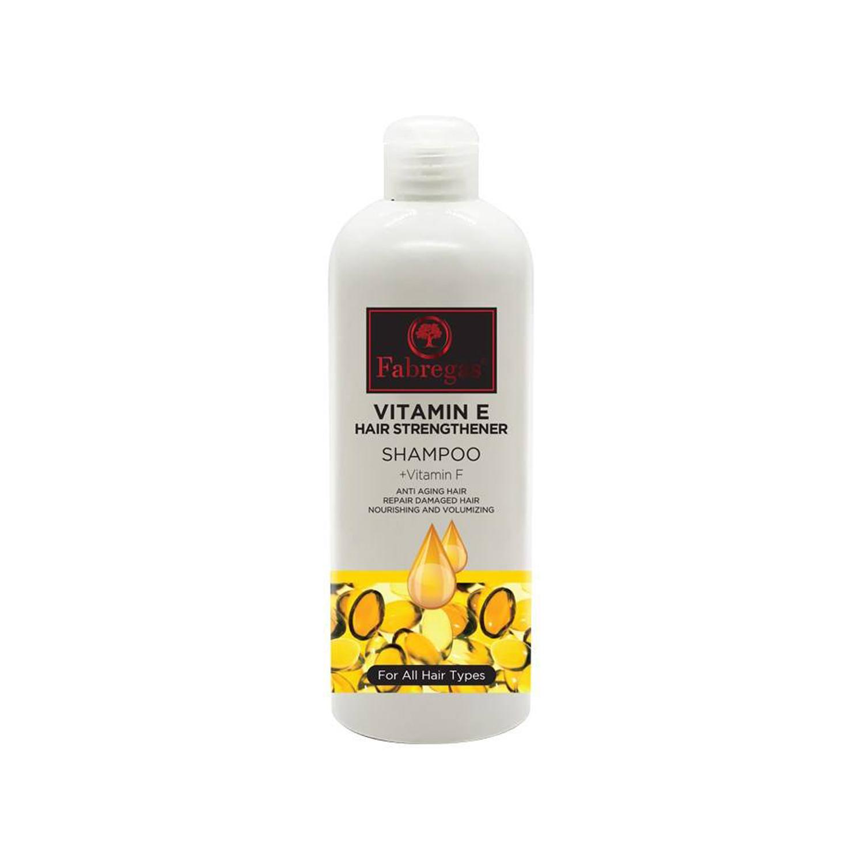 شامپو ترمیم کننده فابریگاس مدل Vitamin E حجم 400 میلی لیتر