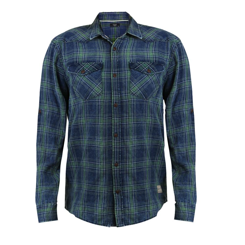 پیراهن آستین بلند مردانه کالینز مدل 6363