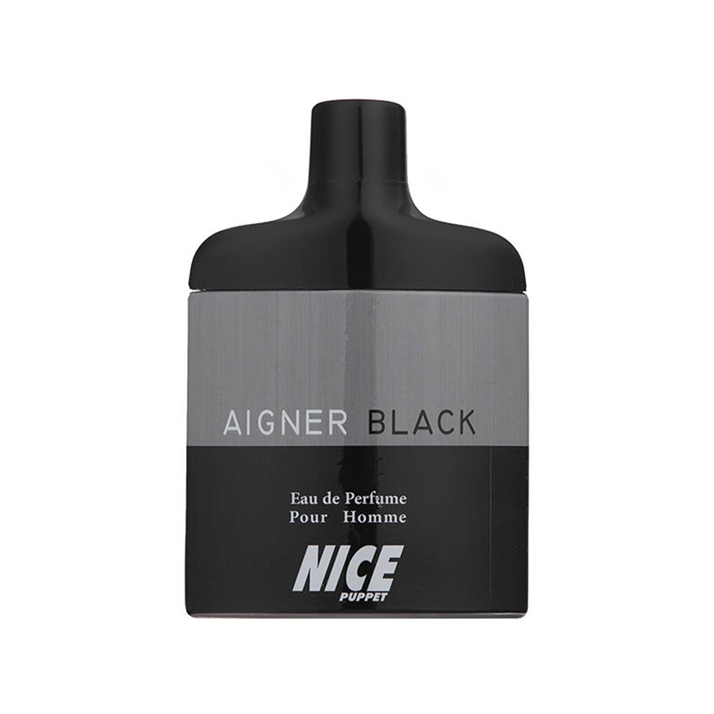 عطر مردانه نایس پاپت مدل Aigner Black حجم 85 میلی لیتر