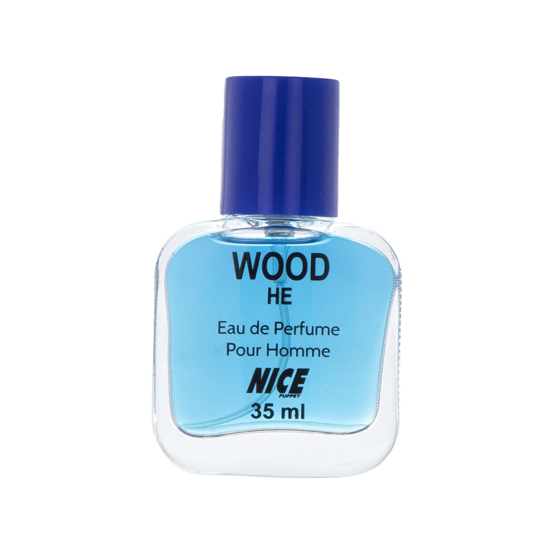 عطر جیبی مردانه نایس پاپت مدل Wood He حجم 35 میلی لیتر