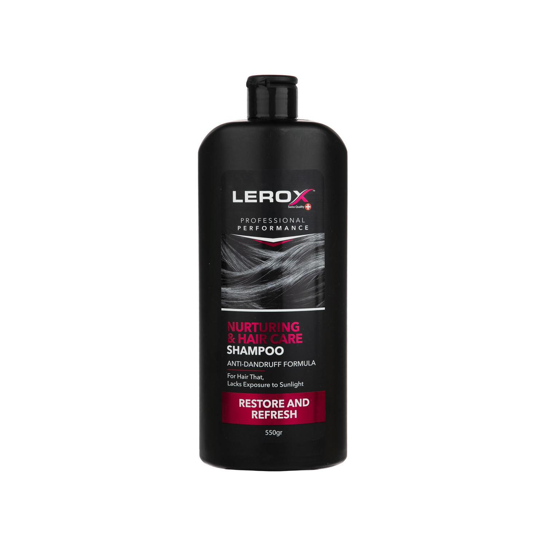 شامپو لروکس مدل Nurturing & Hair Care حجم 550 میلی لیتر
