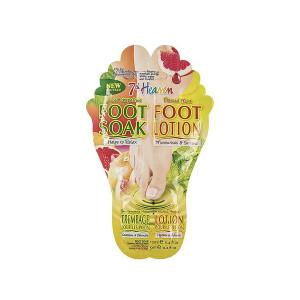 ماسک پا مونته ژنه سری 7th Heaven مدل Foot Soak and Foot Lotion حجم 12 میلی لیتر