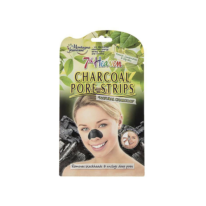 ماسک پاک کننده بینی مونته ژنه سری 7th Heaven مدل Characoal