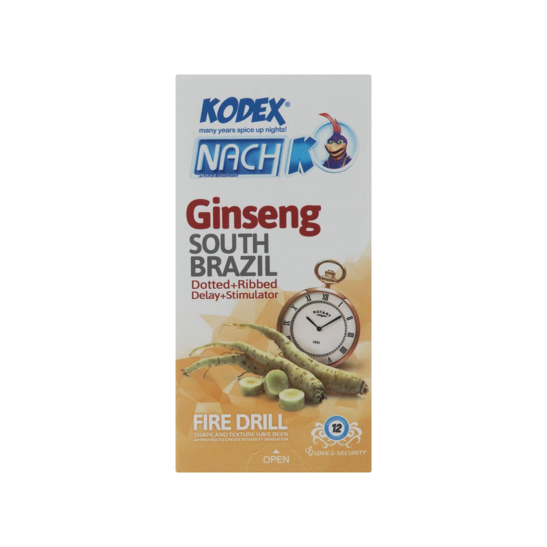 کاندوم کدکس مدل Ginseng بسته 12 عددی