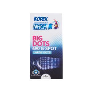 کاندوم کدکس مدل Big Dots بسته 12 عددی