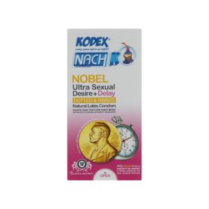 کاندوم کدکس مدل Nobel بسته 12 عددی