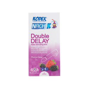 کاندوم کدکس مدل Double Delay بسته 12 عددی