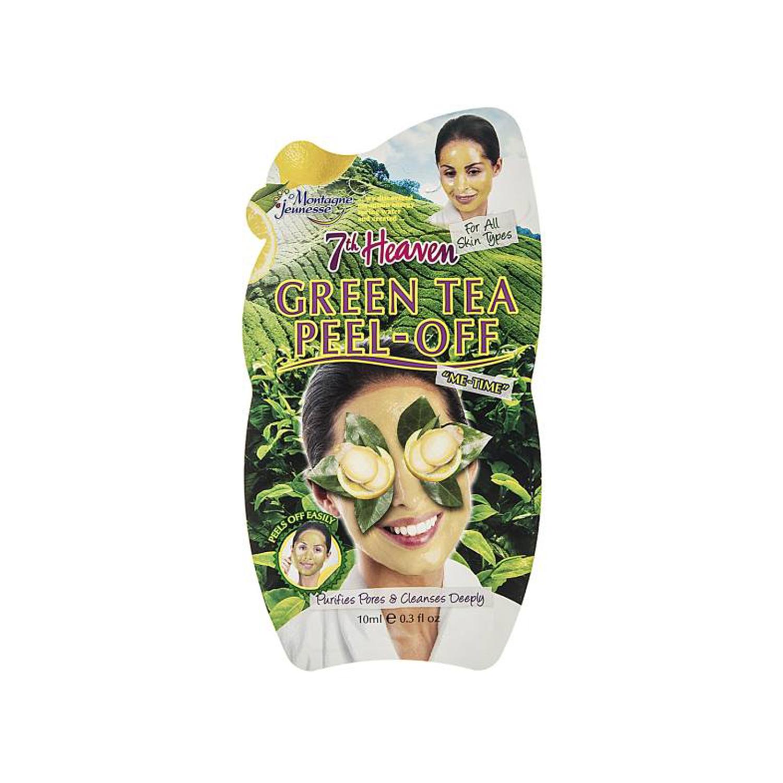 ماسک صورت مونته ژنه سری 7th Heaven مدل Green Tea حجم 10 میلی لیتر