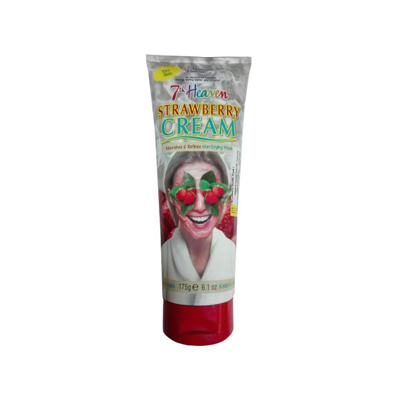 ماسک صورت مونته ژنه سری 7th Heaven مدل Strawberry Cream وزن 175 گرم