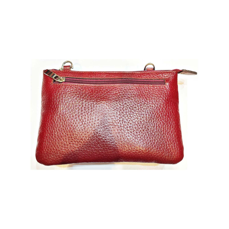 کیف دستی چرم  زنانه کد M130