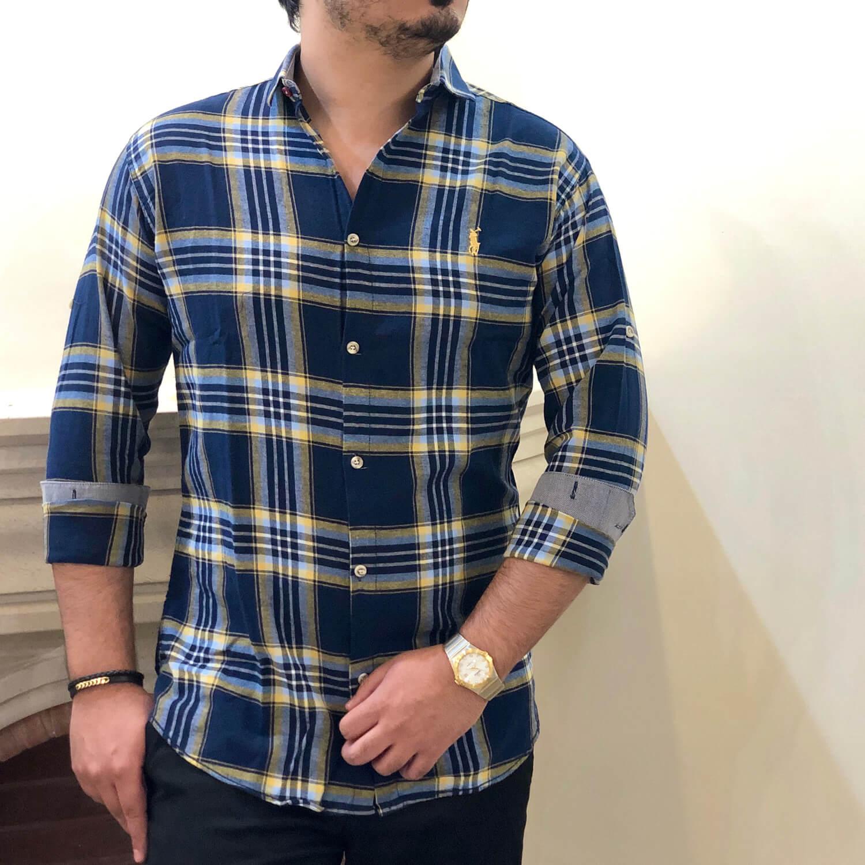 پیراهن مردانه طرح Polo کد 140