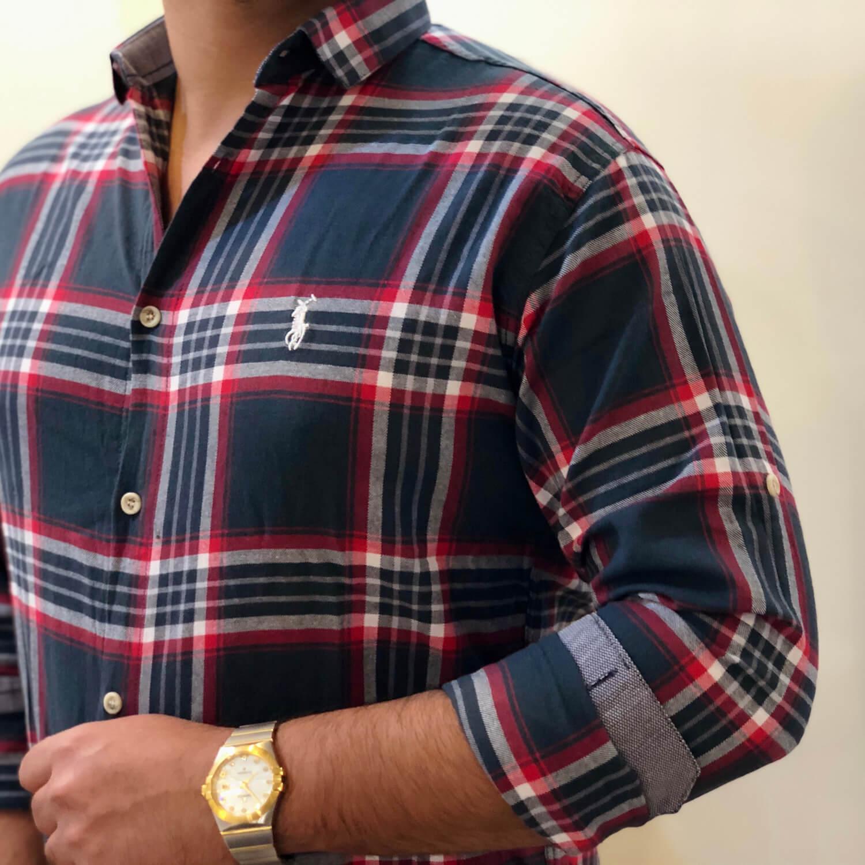 پیراهن مردانه طرح Polo کد 139